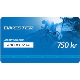Bikester Presentkort 750 kr
